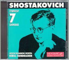 Kirill KONDRASHIN: SHOSTAKOVICH Symphony No.7 Leningrad BMG CD Schostakowitsch
