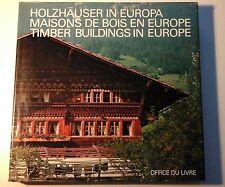 Suzuki Makoto, Maisons de bois en Europe, Fribourg 1979 - Costruzioni in legno