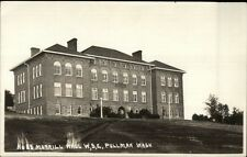 Pullman WA WSC State College Morrill Hall c1915 Real Photo Postcard dcn