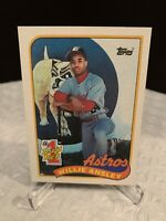 1989 Topps #1 Draft Pick WILLIE ANSLEY Rookie Card RC Near Mint #607