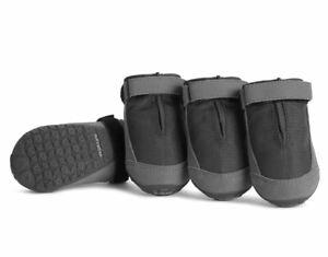 """New! Ruffwear Summit Trex Dog Boots Set of 4 Twilight Gray Sz 2.0""""/51MM"""