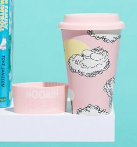 Official Moomin Floating on Clouds Eco Friendly Travel Mug