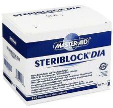 STERIBLOCK DIA , weisses Druckpflaster, Dialyse-Pflaster von Master Aid