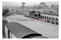 gw0728 - Lowestoft Fish Docks GER 242T Class F4 11 Sep 1952 - photograph 6x4