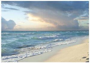 Vlies Fototapete Strand Meer TAPETE XXL Landschaft Modern Natur Wohnzimmer 842