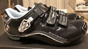 Bontrager Race DLX Road Womens Black Cycling Shoes - Size 38 / US 6.5 - 425106