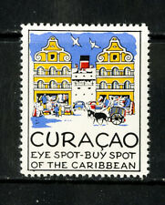 Curacao Stamps Label NH Visit Curacao Old Time Label