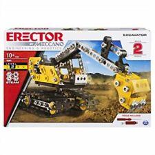 MECCANO ERECTOR 2-IN-1 EXCAVATOR MODEL BUILDING SET