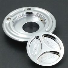 For Kawasaki ZX 14R Z1000 10R 9R 6R 636 ZZR600 650R ER-6 ZRX CHROME Gas Cap Fuel