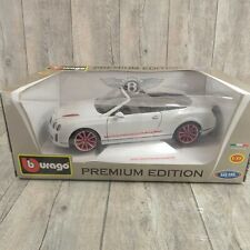BURAGO 11328 - 1:18 - Bently Continental Supersports Convertible OVP #Ai46518