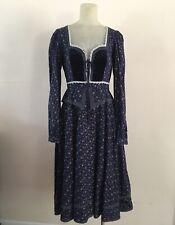 New listing Vintage Gunne Sax Dress Floral Calico Prairie Women's Size 9