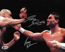 Ken Shamrock & Bas Rutten Signed UFC 8x10 Photo BAS Beckett COA Pancrase Picture