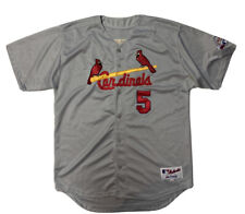 Vtg Albert Pujols St Louis Cardinals Jersey Mens Large 54 Majestic All Star Game