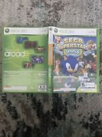 Sega Superstars Tennis / Xbox Live Arcade (Xbox 360, 2008) CIB. See Description