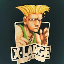 X-LARGE  Street Fighter Guile Size L Men's T-shirt Free Shipping from JAPAN
