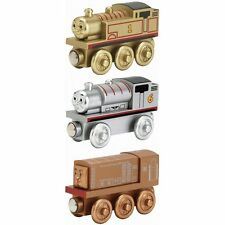 THOMAS & FRIENDS-SODOR COLLECTOR'S PACK GOLD THOMAS BRONZE DIESEL SILVER PERCY!!