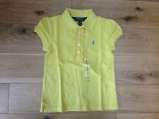 Genuine Ralph Lauren Yellow Girl Polo Shirt 4T