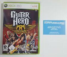 Guitar Hero Aerosmith, Xbox 360, Pal-esp. Nuevo a estrenar.