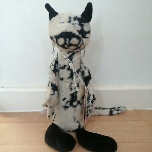 Sigikid Beasts Germany Felinda Feile Cat Plush Collectible Animal Original Rare