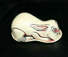 Vintage Yone Wind up Tin Rabbit Toy