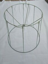 Large Vintage Lamp Shade Frame Tall Bell 30197