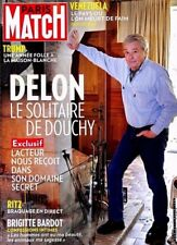 Paris Match n° 3584 du 24/1/2018*ALAIN DELON EXCLUSIF*TRUMP ANNÉE FOLLE*B.BARDOT