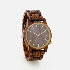 Personalized Engraved Wood Watch Wooden Watches Wedding Custom Fathers Day Gift