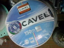 50 MT cavo satellitare coassiale DG80 CAVEL  5,0 mm  PEZZATURA 50 MT