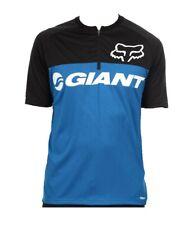 Fox Racing Giant Ranger SS Jersey: Blue MD