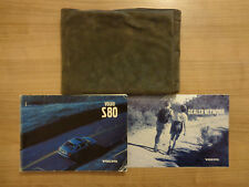 Volvo S80 Owners Handbook/Manual and Wallet 97-02