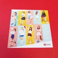 """K-POP TWICE 4th Mini Album """"SIGNAL"""" Official Twice x Spris Photo"""