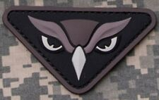 OWL HEAD SWAT ISAF OIF COMBAT TACTICAL BADGE MORALE 3D PVC MILITARY PATCH