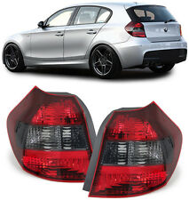 CRYSTAL SMOKED REAR BACK LIGHTS LAMPS FOR BMW E81 & E87 1 SERIES 2004-2007