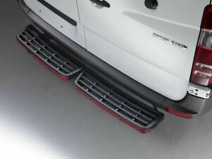 Rhino Black Twin SafeStep Van Rear Step for Mercedes Sprinter (06-18) SS205B