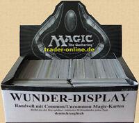 WUNDER DISPLAY voll mit original Magic Karten Sammlung deutsch englisch Lot