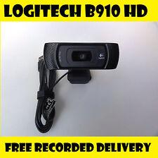 Logitech B910 HD Webcam With Carl Zeiss Lens C910 HD Built in Microphone