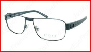 OGA Morel Eyeglasses Frame 7918O BB022 Metal Acetate Dark France 55-16-135, 37