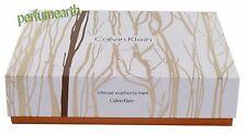 Euphoria Intense by Calvin Klein 3 Pcs Set 3.4oz Edt sp W A/S/B +Deo Men Nib