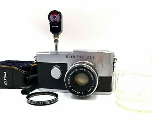 [Near MINT] Olympus Pen F 35mm Half Frame Film Camera from Japan CLEAN Lens!