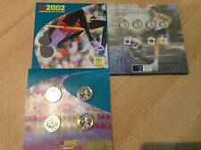 2002  Commonwealth Games £2 Pound bu Coins Set Ireland England Wales Scotland