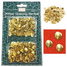 Push Pin 300x Drawing Pins Message Board Thumb Tack Cork Noticeboard Notes GOLD