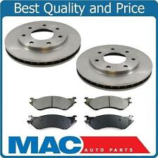 Fits 1997-2003 Ford F150 F250 front Disc Brake Rotor With Pads 7 Stud 4x4 Only