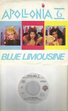 APOLLONIA 6  Blue Limousine  promo 45 with PicSleeve  PRINCE
