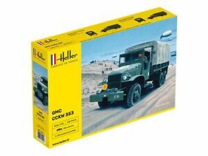 Heller 81121 WWII U.S. GMC CCKW 353 Transport Truck plastic model kit 1/35