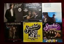 6 tolle Single-Schallplatten(1970-1980erJahre), Pop, siehe Artikelbeschreibungen