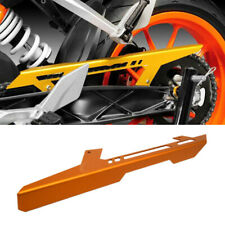 Orange Motorcyle CNC Chain Guard Protector Cover For KTM RC Duke 125 200 390 1x