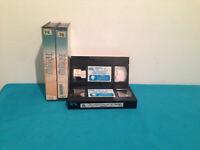 Fort sagane VHS tape & case RENTAL FRENCH