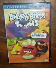 Angry Birds Toons: Season 2, Vol. 1 (DVD, 2015) Free Shipping!