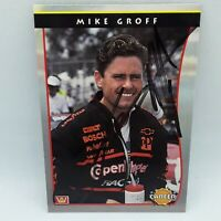Indy 500 Driver Mike Groff Hand signed autographed 1992 AW Indy Racing card