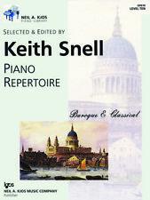 Keith Snell Piano Repertoire: Baroque & Classical - Level 10 GP610